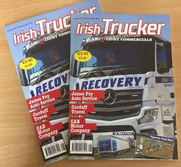Irish Trucker magazine August 2017)